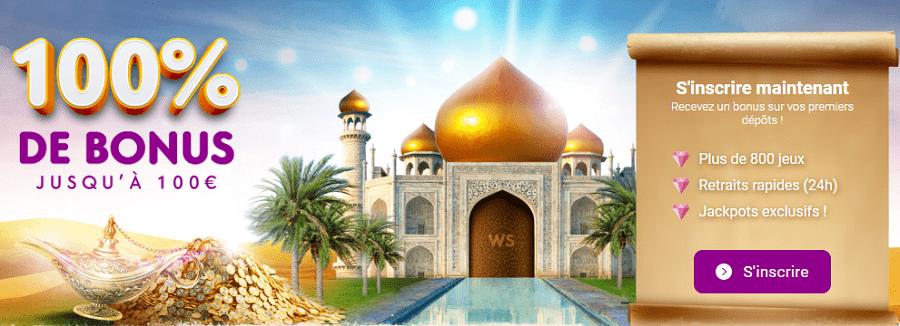 wild sultan casino bonus de bienvenue. casino en ligne en france