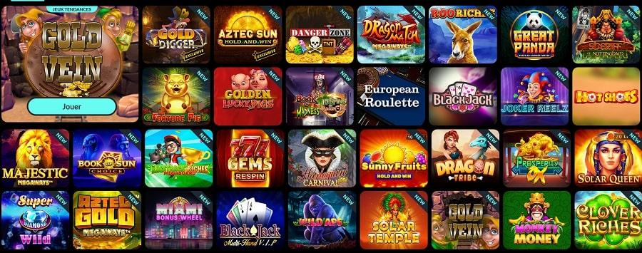 Casino Spin Madness avis revue critique bonus de bienvenue casino de confiance