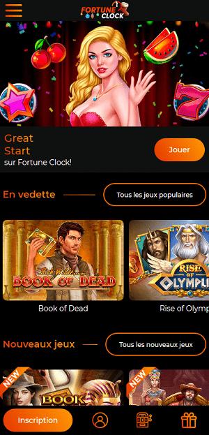 fortune clock casino avis casino français en ligne nouveua casino 2021