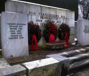 Gedenkstätte für die Februar-Kämpfer in Bruck an der Mur