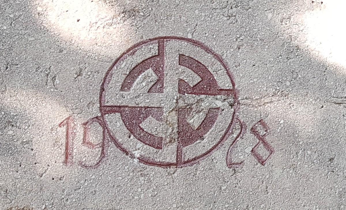 Das Hakenkreuz und das katholische Stift Klosterneuburg bei Wien
