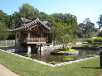 The Korean garden in Frankfurt