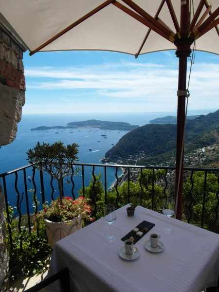 Eze le Village ~ Lunch with a view of paradise