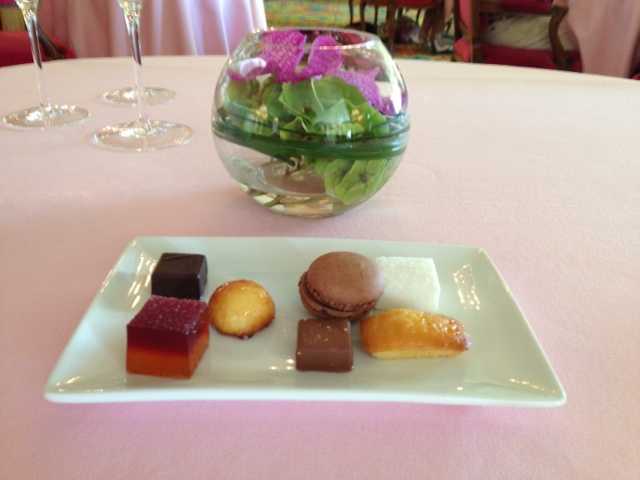 Le Chantecler, Essence of a 2** Michelin Luncheon
