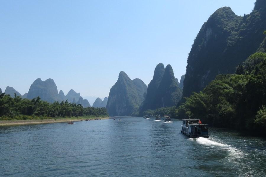 China - The Li River near Guilin