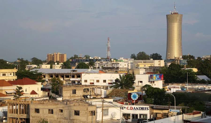 Congo Brazzaville, smaller of 2 Congo countries, the one with the oil!