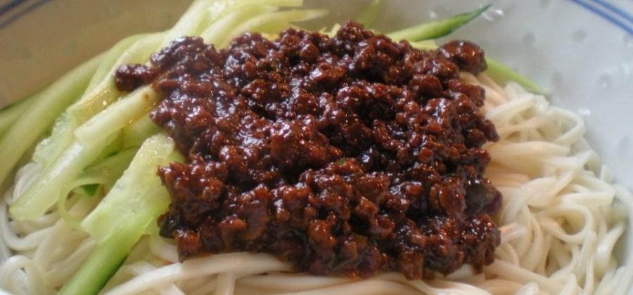 BEST of China food : Zah Jian Mian !