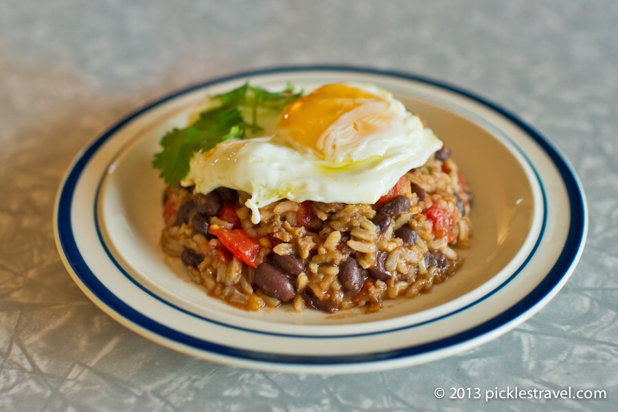 BEST of Costa Rica food : Gallo Pinto !