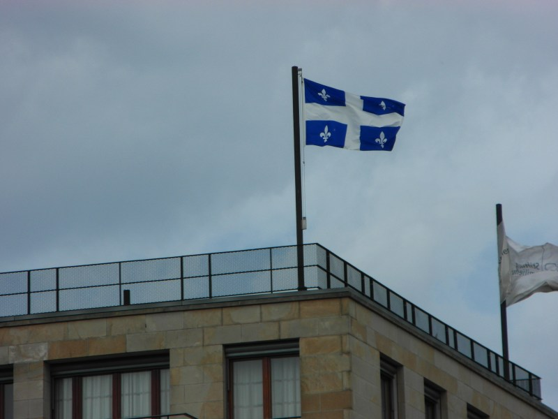 Quebec Flag : Can you guess where this photo was taken?