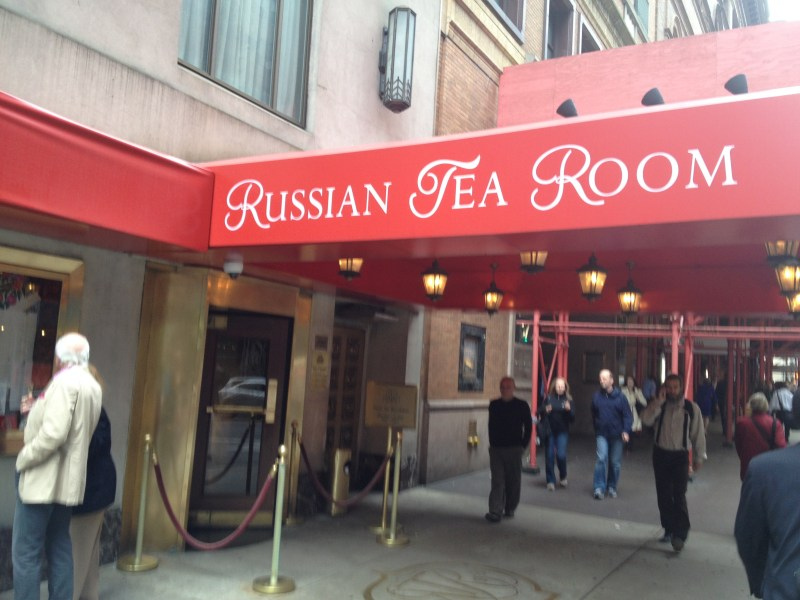 Russian Tea Room : the perfect Pre-Theater dinner!