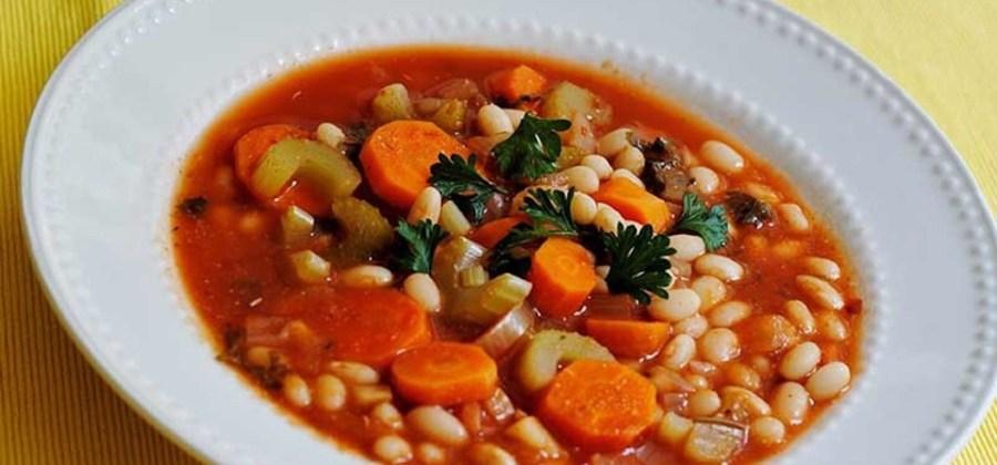 BEST of Cyprus food : Fasolada !