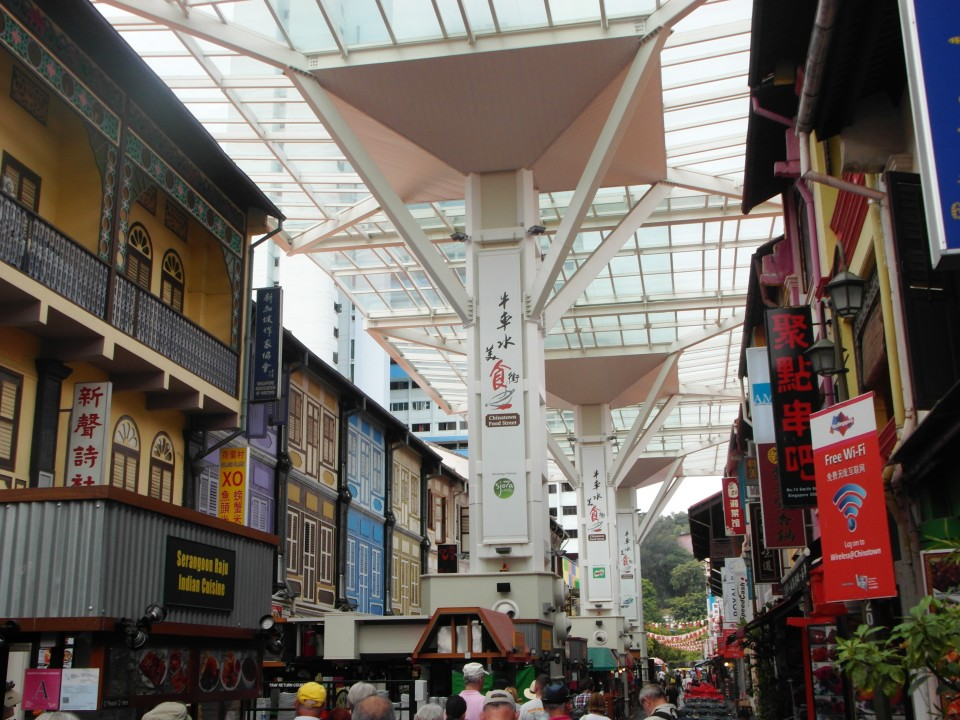 Singapore Chinatown food street
