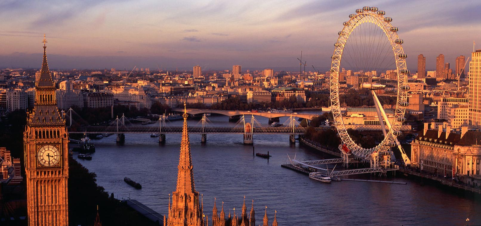 Travel destinations of a lifetime: London England (photo www.excel-london.co.uk)