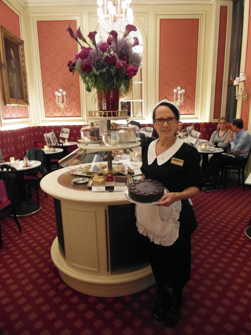 Vienna cafes and coffee houses : Cafe Sacher