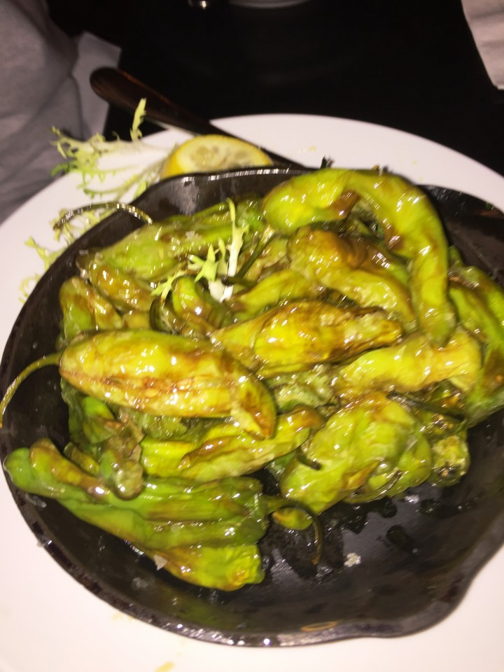 Pennsylvania 6 DC :Skillet Fried Shishito Peppers with sea salt and lemon