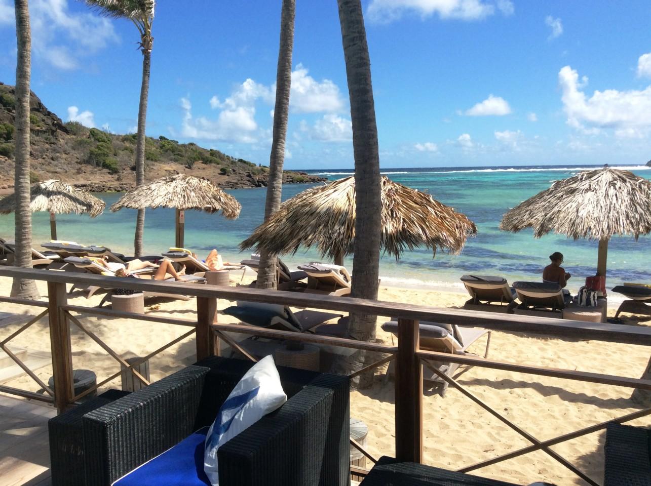 <em>Le Guanahani</em> ... an exquisite resort on très chic St Barth