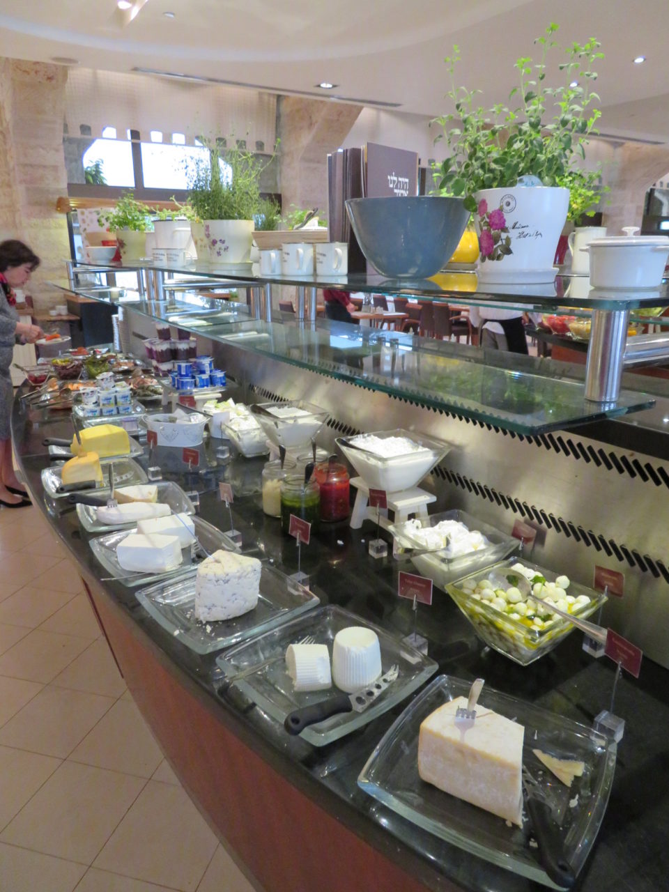 Israeli Breakfast : Artisanal Cheeses