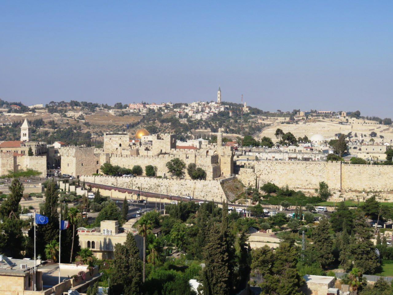 The joys of walking Jerusalem