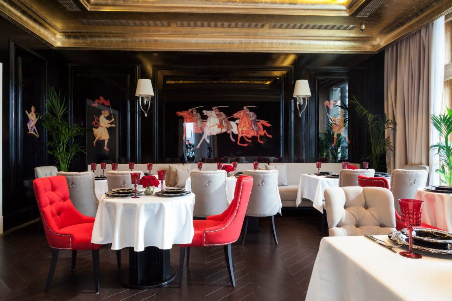 GRAND CAFÉ DR. ZHIVAGO … A Favorite of Moscow's new elite