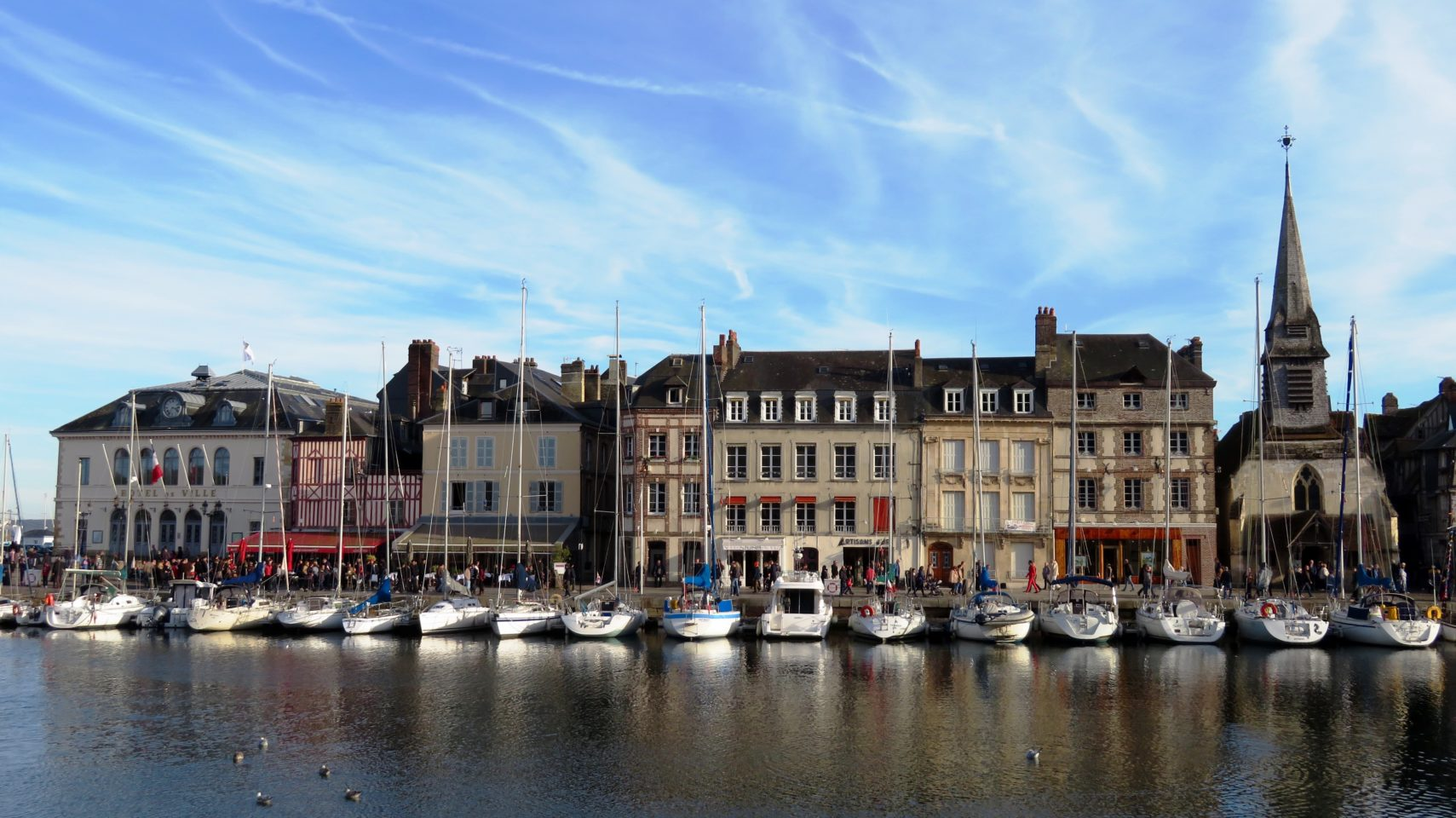 Honfleur, on the Atlantic coast of France, from where Samuel de Champlain left to settle Quebec City in 1608