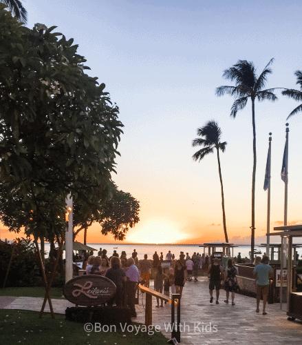 best-restaurants-in-maui-sunset-over-leilani