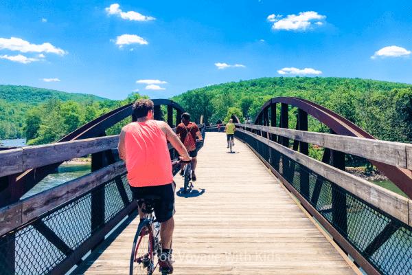 staycation-with-kids-bike-ride
