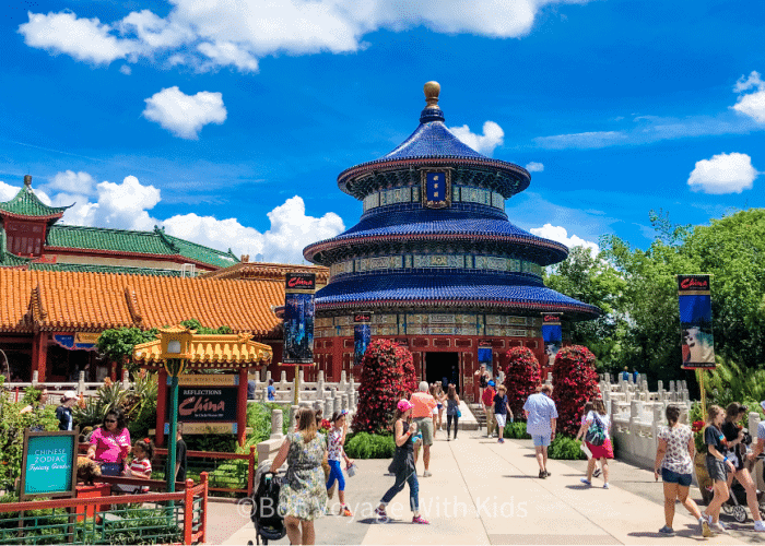 best things to at disney epcot china pavilion