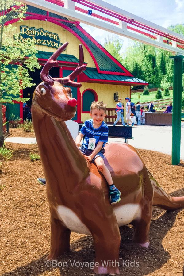 Reindeer Ride at Santa's Village