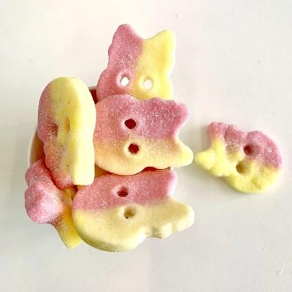 Bonza Confectionery - Sour Foam Skulls 1