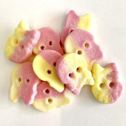 Bonza Confectionery - Sour Foam Skulls 2