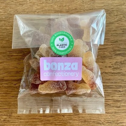 Fizzy Cola Bottles - Bonza Confectionery