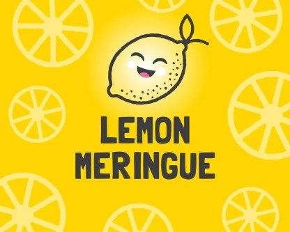 Slab Artisan Fudge - Lemon Meringue Flavour Graphic