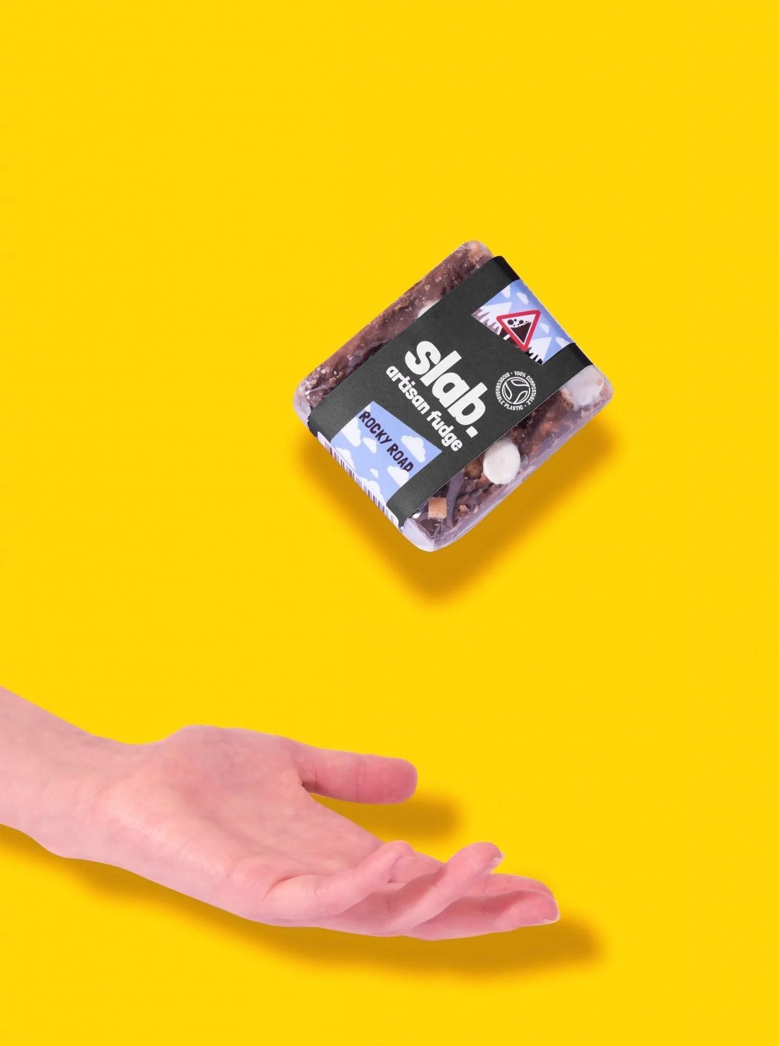 Slab Artisan Fudge Creative Photo - Dairy Hand