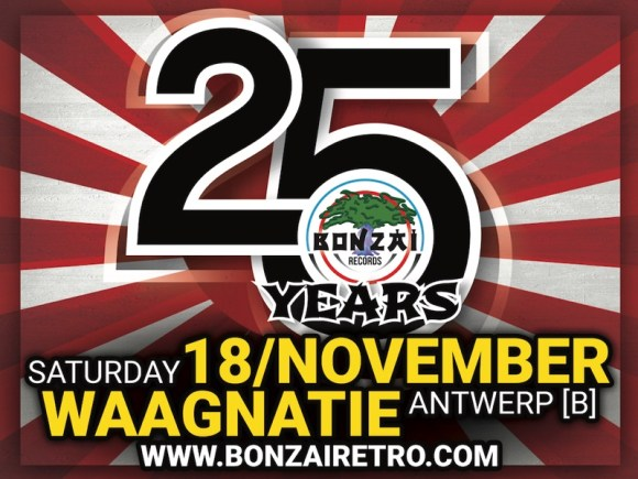 25 Years Bonzai Retro Party