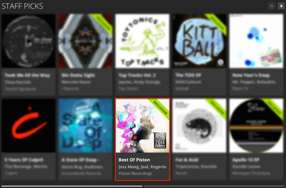 BEST OF PISTON RECORDINGS 2014 FEATURED BY BEATPORT
