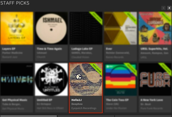 DEEPHNO – HELLO2J FEATURED BY BEATPORT
