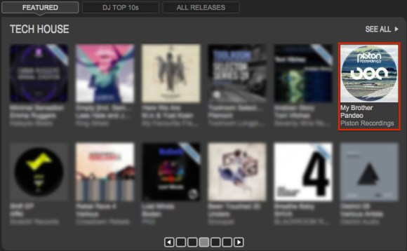 PANDEO – MY BROTHER FEATURED BY TRAXSOURCE