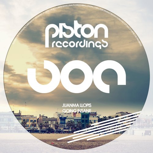 JUANMA LLOPIS – GOING INSANE (PISTON RECORDINGS)