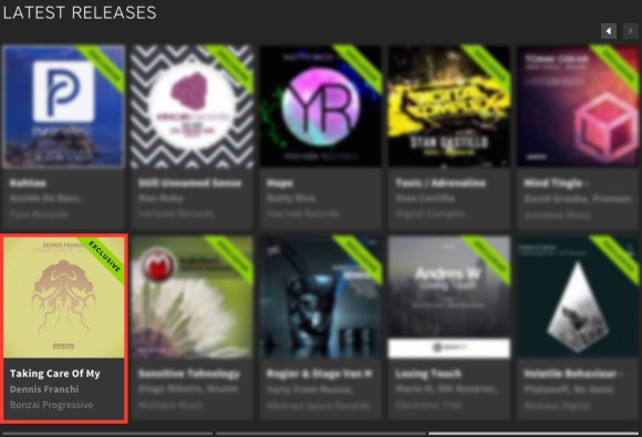 DENNIS FRANCHI – TAKING CARE OF MY SHIT FEATURED BY BEATPORT