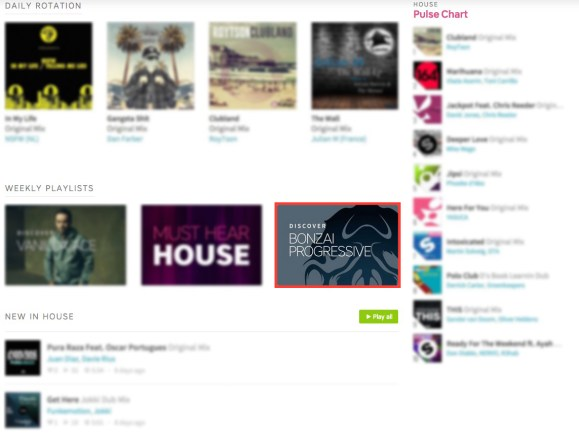 BONZAI PROGRESSIVE FEATURED BY BEATPORT