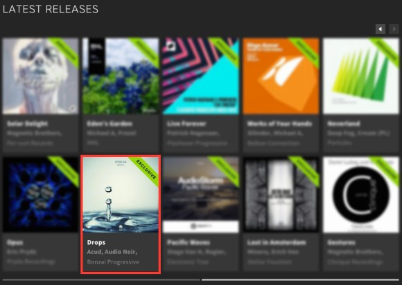 STEVE SAI – DROPS FEATURED BY BEATPORT