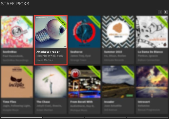 AFTERHOUR TRAX 17 FEATURED BY BEATPORT