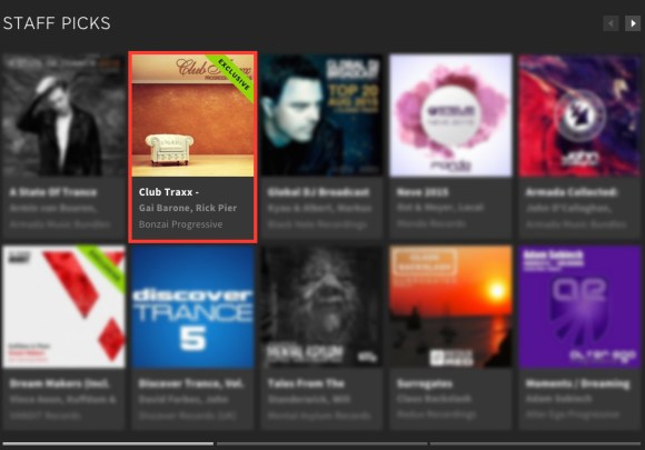 CLUB TRAX PROGRESSIVE HOUSE 16 FEATURED BY BEATPORT