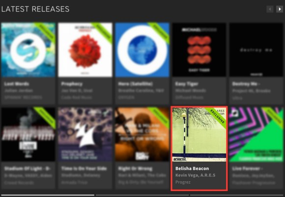 A.R.E.S – BELISHA BEACON FEATURED BY BEATPORT