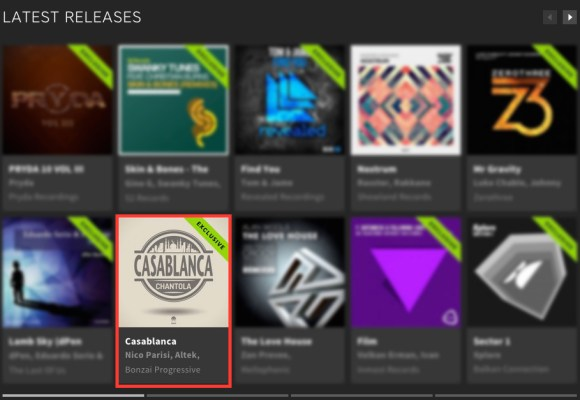 CHANTOLA – CASABLANCA FEATURED BY BEATPORT