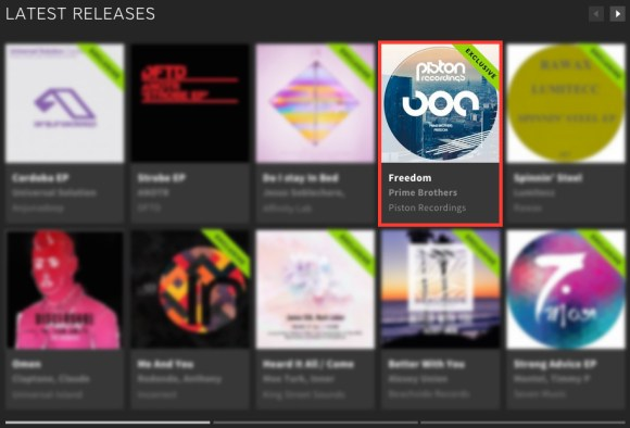 PRIME BROTHERS – FREEDOM FEATURED BY BEATPORT