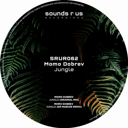 MOMO DOBREV – JUNGLE (SOUNDS R US RECORDINGS)