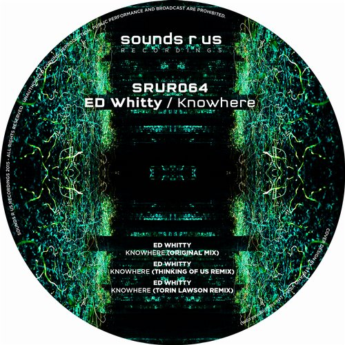 ED WHITTY – KNOWHERE (SOUNDS R US RECORDINGS)