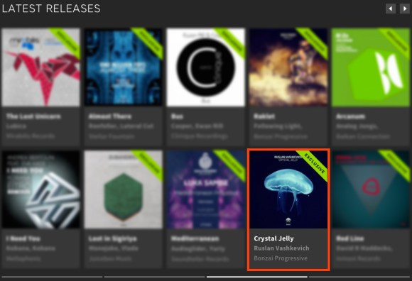 RUSLAN VASHKEVICH – CRYSTAL JELLY FEATURED BY BEATPORT