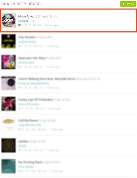 UPRIGHT – MOVE AROUND (ORIGINAL MIX) FEATURED BY BEATPORT